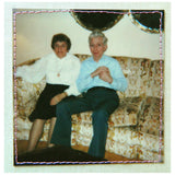vintage polaroid of couple