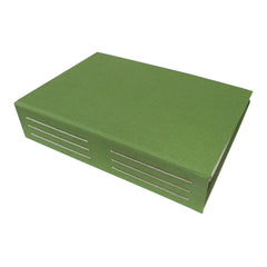 moss green photo album for polaroid spectra photos