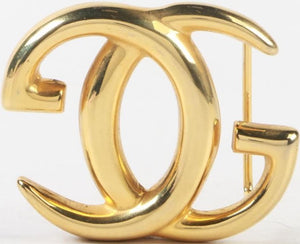 'Gucci Brass Belt Buckle'