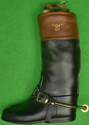 """21"" Club Jockey Boot Evans Lighter"
