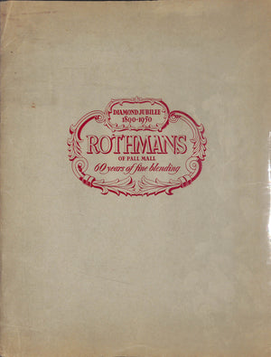 """Rothmans of Pall Mall: Diamond Jubilee 1890-1950"""