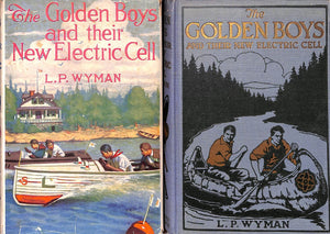 """The Golden Boys And Their New Electric Cell"" 1923 WYMAN, L.P."