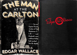 """The Man At The Carlton"" 1932 WALLACE, Edgar"