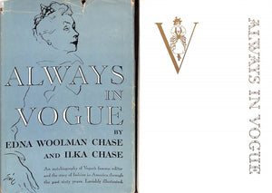 """Always In Vogue"" 1954 CHASE, Edna Woolman and Ilka"