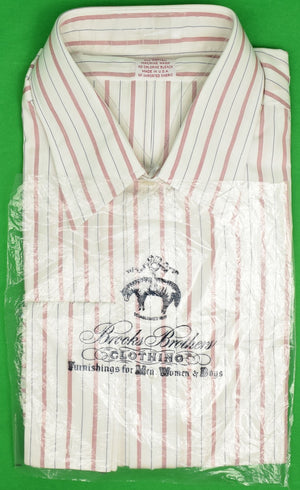 Brooks Brothers French Cuff Dress Shirt 17-4 (New/ Old Deadstock!)