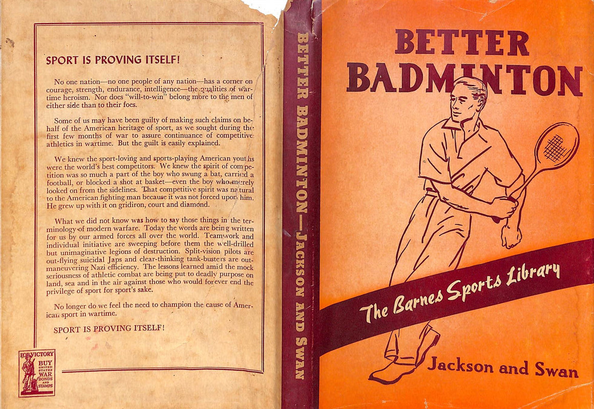 """Better Badminton"" Carl H. Jackson and Lester A. Swan"