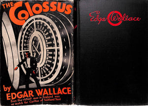 """The Colossus"" 1932 WALLACE, Edgar"