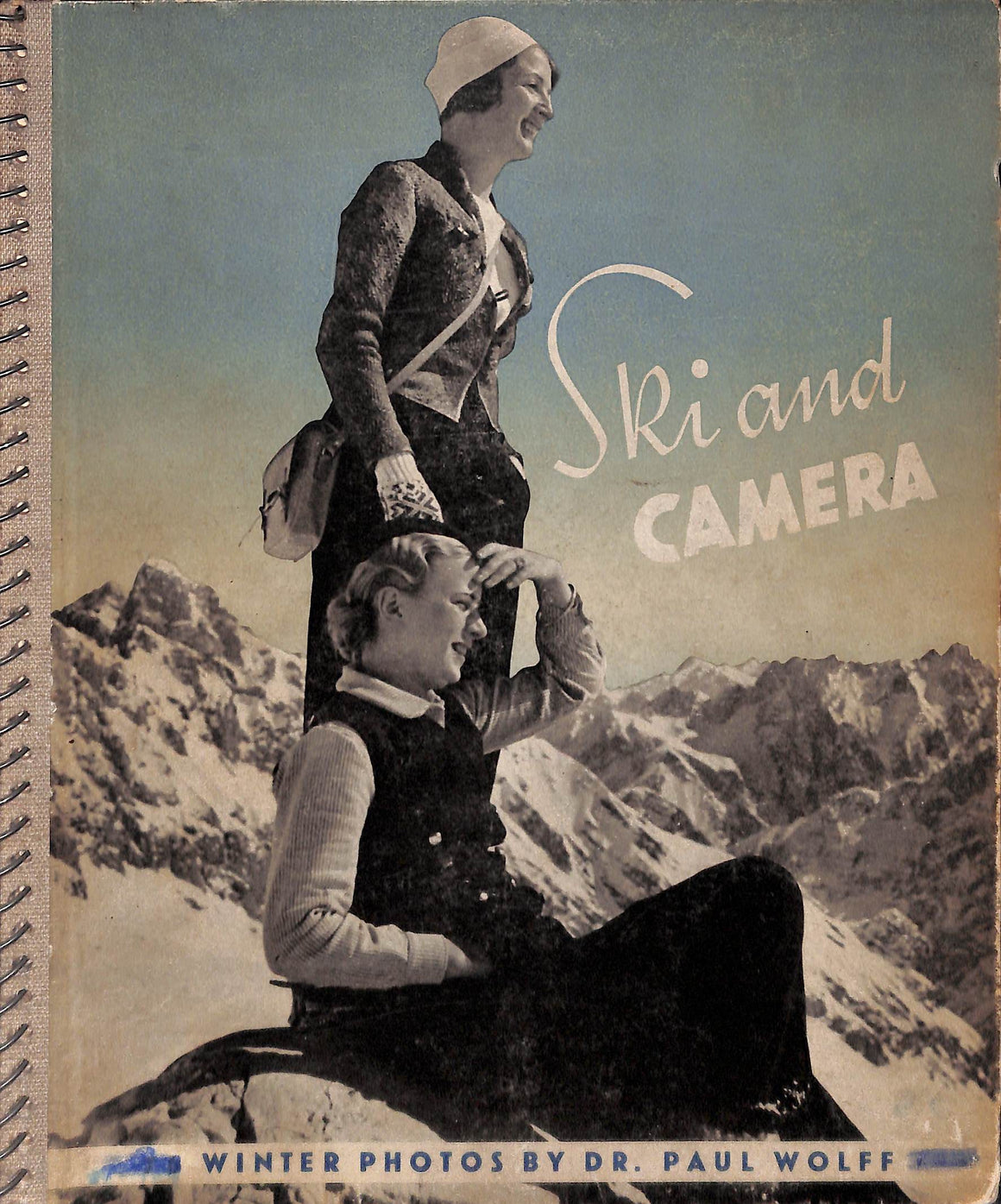 """Ski and Camera: Seventy-Six Winter Leica Photographs"" WOLFF, Dr. Paul"