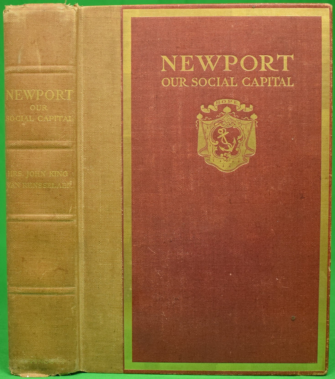 """Newport: Our Social Capital"" VAN RENSSELAER, Mrs. John King"