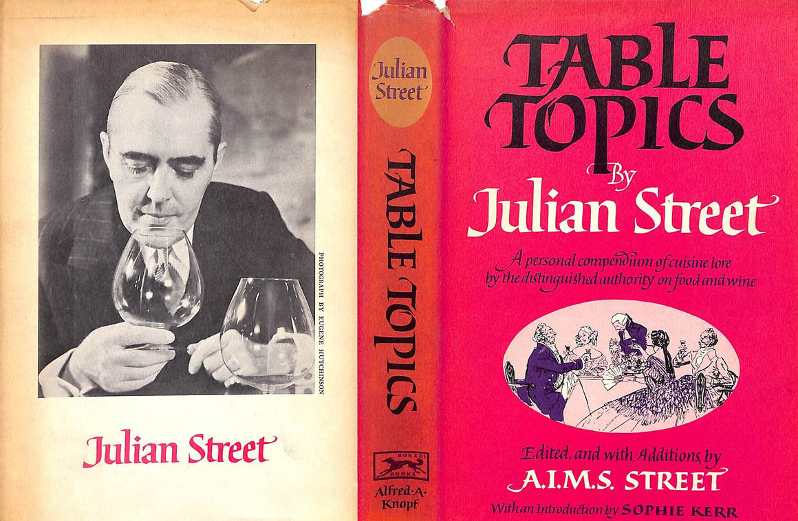 """Table Topics"" 1959 STREET, Julian"