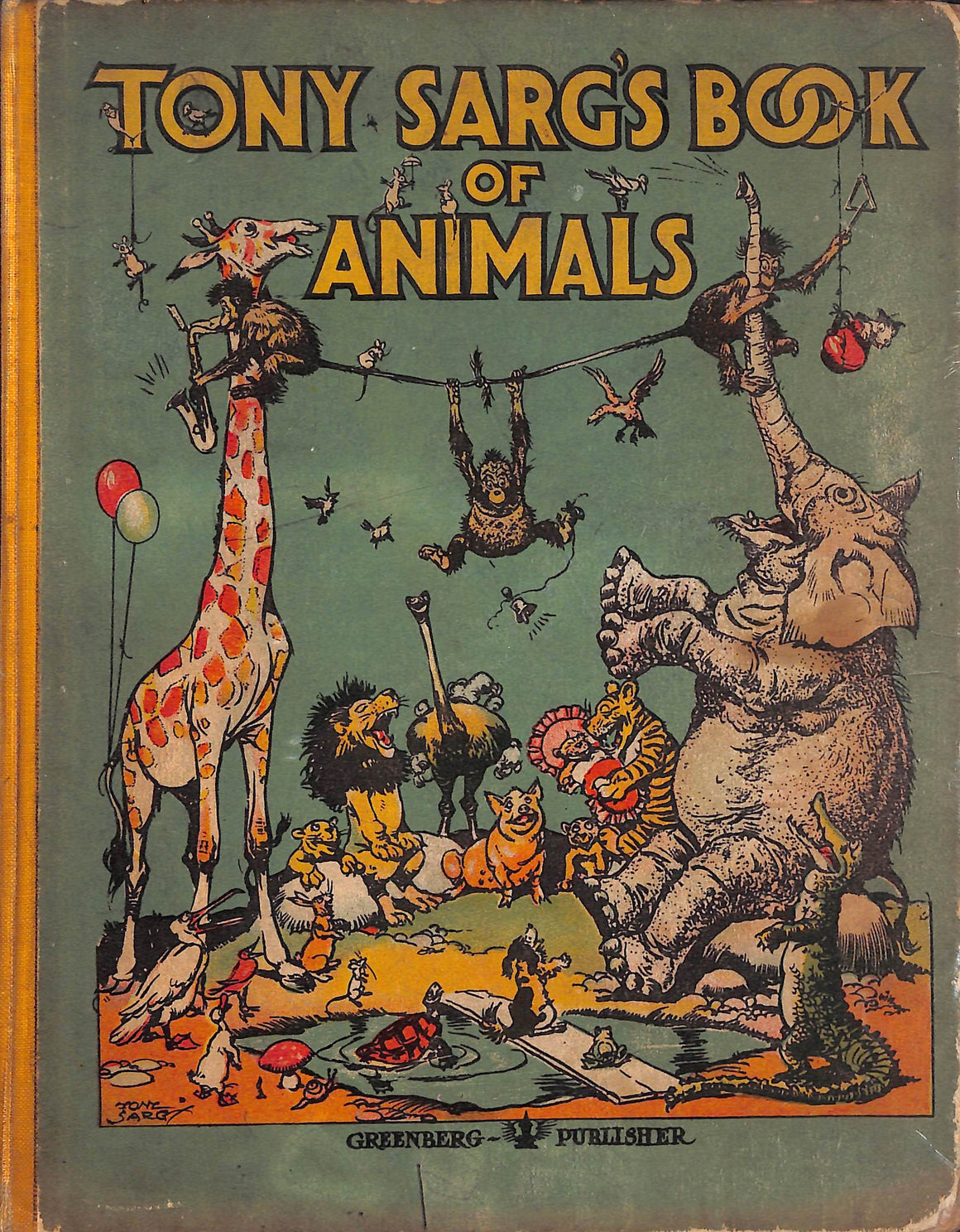 """Tony Sarg's Book of Animals"""