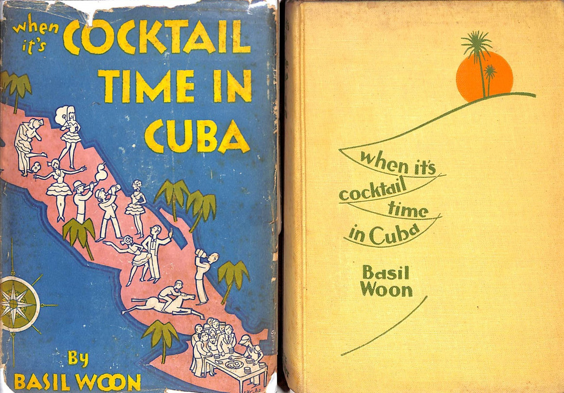"""When It's Cocktail Time in Cuba"" 1928 WOON, Basil"