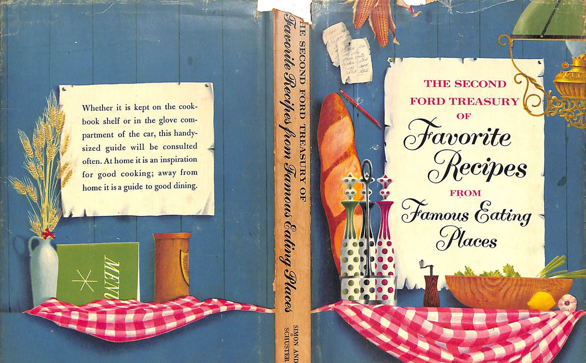 """The Second Ford Treasury of Favorite Recipes from Famous Eating Places"""