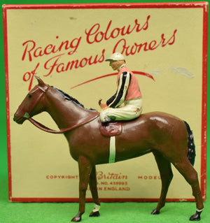Britains Racing Colours of Famous Owners: C. V. Whitney (SOLD!)