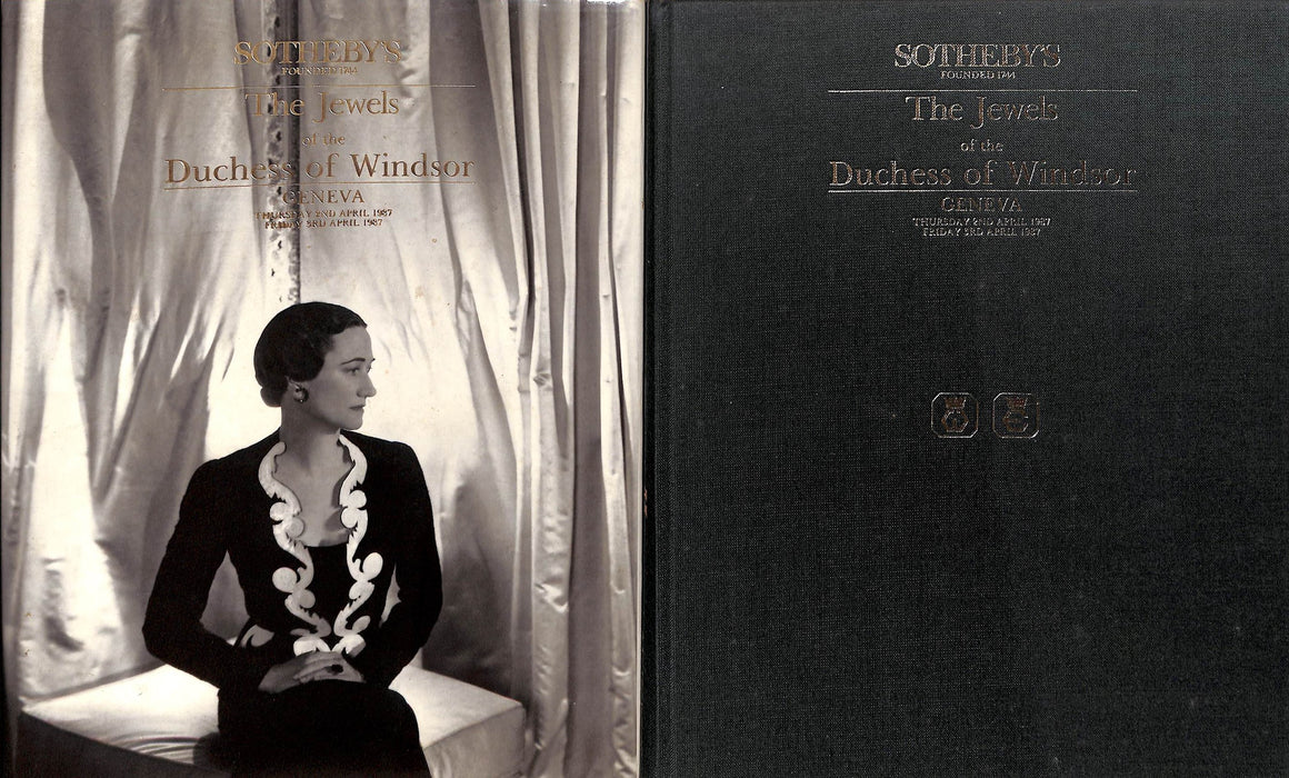 """Sotheby's: the Jewels of the Duchess of Windsor - 2nd-3rd April 1987"""