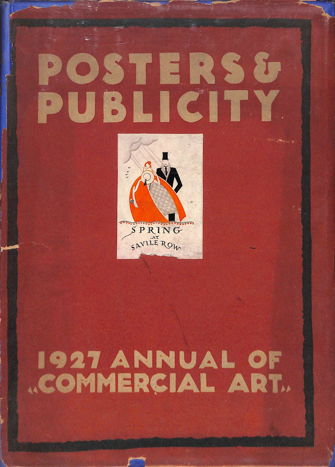 """Posters & Publicity: 1927 Annual of Commercial Art"""