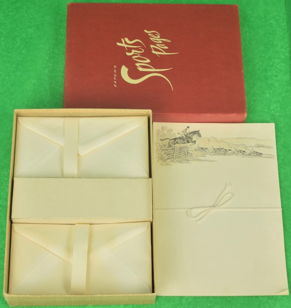 Paul Desmond Brown Boxed Set of FoxHunter Stationary