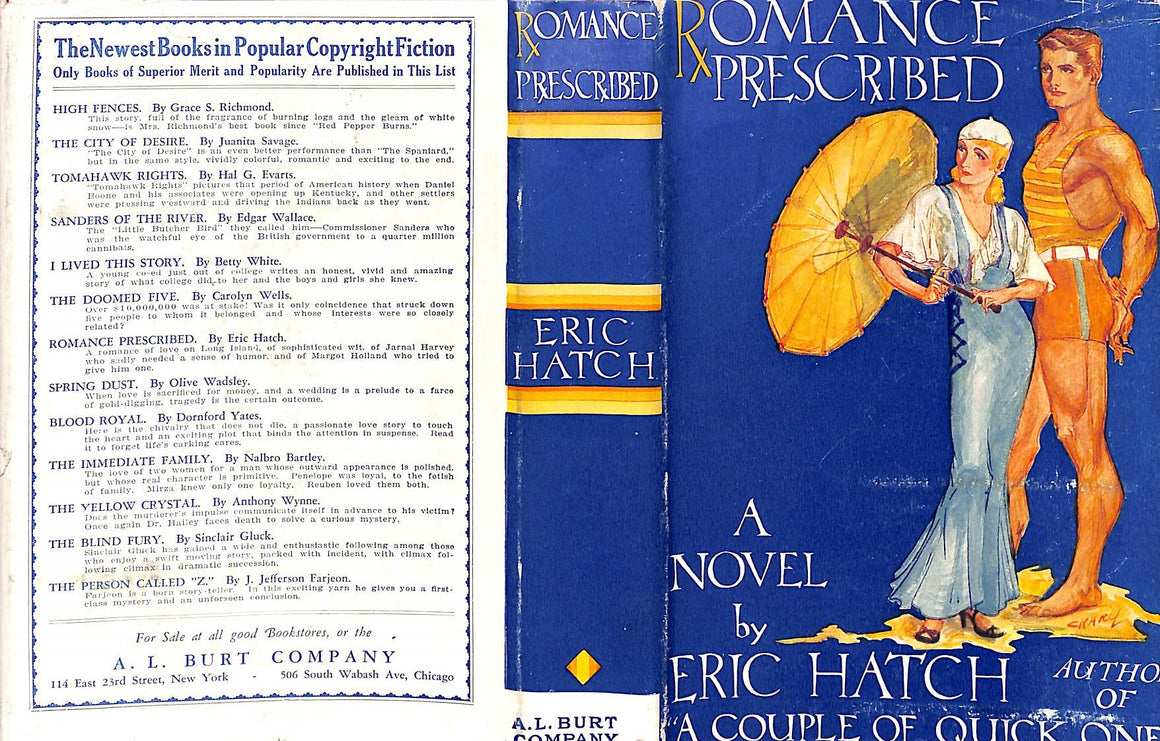 """Romance Prescribed"" 1930 by Hatch, Eric"