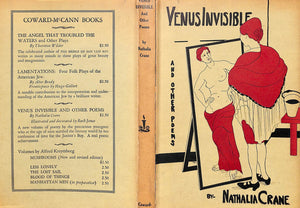 """Venus Invisible and Other Poems"" 1928 by Crane, Nathalia"