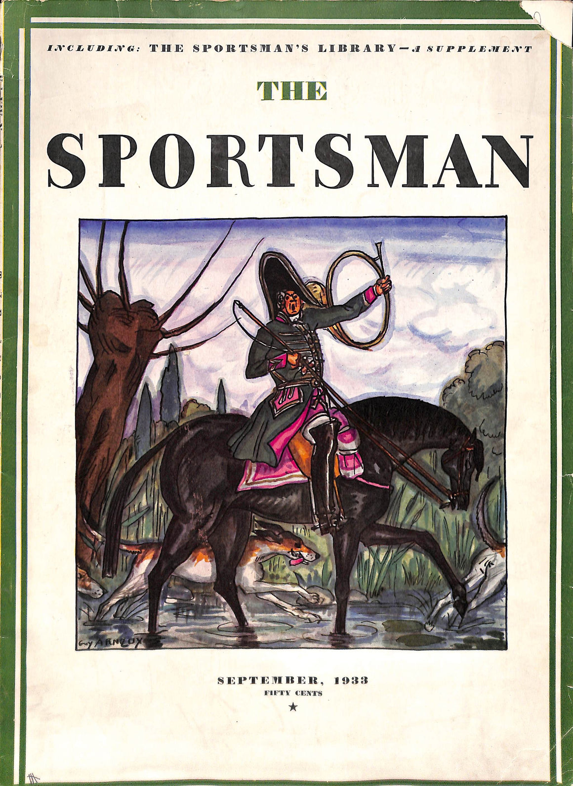 The Sportsman September 1933