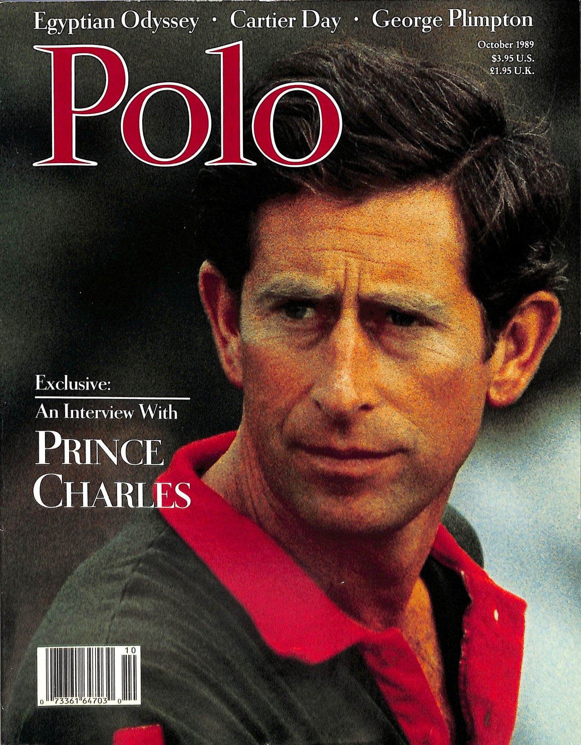"""Polo Magazine October 1989"""