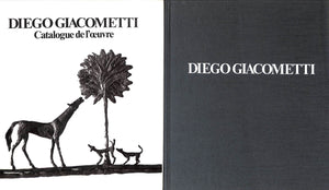 """Diego Giacometti: Catalogue de L'Oeuvre, Volume I"" FRANCISCI, Francoise FRASNAY, Daniel"