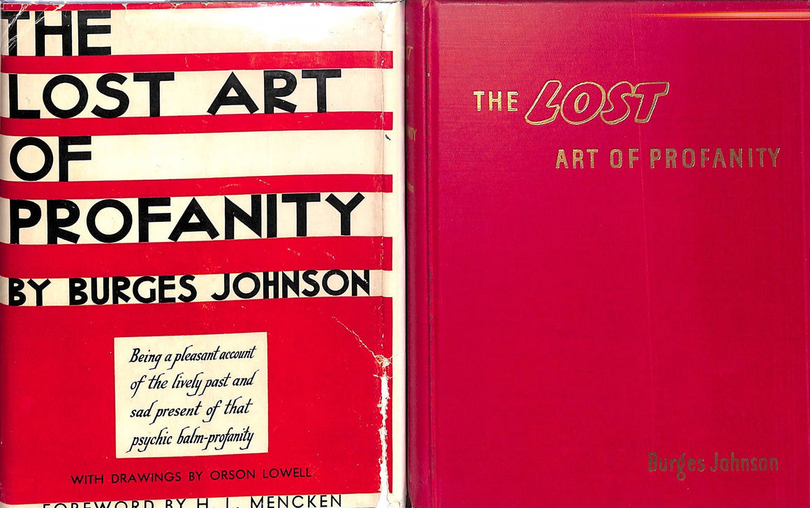 """The Lost Art of Profanity"" Johnson, Burges"