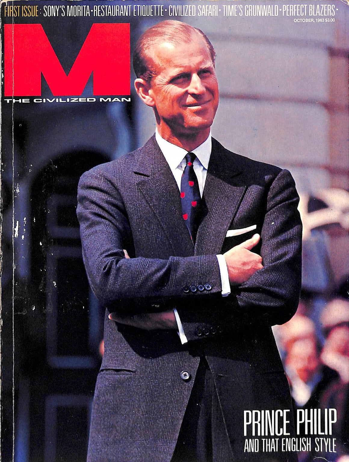 """M The Civilized Man October 1983 Prince Philip and That English Style"""