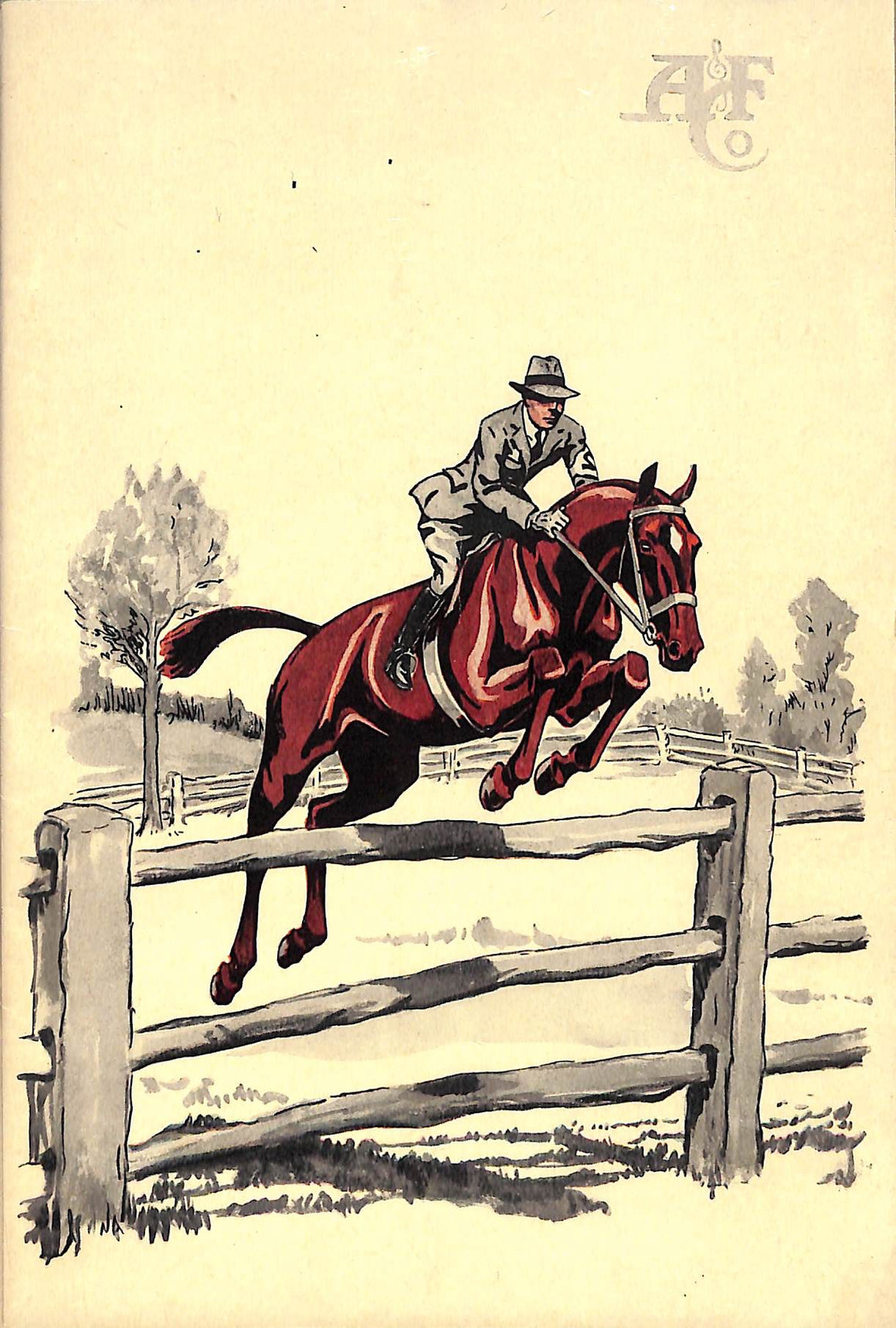 """Saddlery and Equipment For Racing, The Polo, Hunting Field, Bridle Path and Show Ring Abercrombie & Fitch 1928 Catalog"""