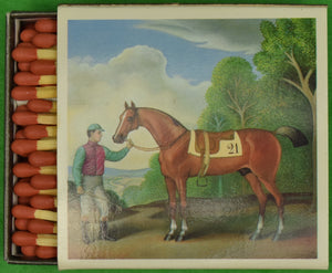 "The ""21"" Club Jockey 'Twin' Matchbook (New/ Unused!)"