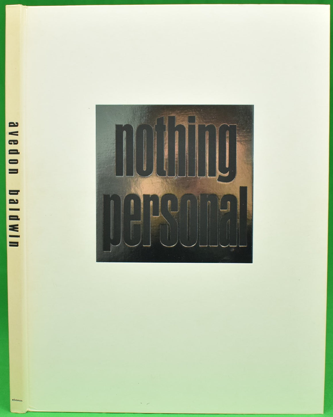 """Nothing Personal"" 1964 AVEDON, Richard (Inscribed to DD Ryan!)"