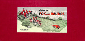 Game of Fox and Hounds Board Game by Parker Brothers Inc