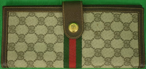Gucci of Italy Win/ Place & Show/ Winners c1970s Billfold