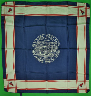 """New York Yacht Club Silk Scarf"""