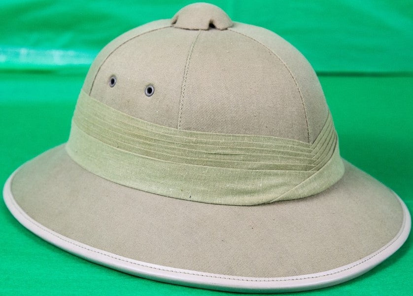 Abercrombie & Fitch Made in England Pith Helmet Sz: Medium New/ Old Deadstock (SOLD)