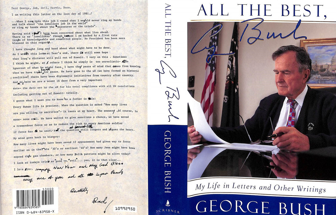 """All the Best: My Life in Letters and Other Writings"" BUSH, George"