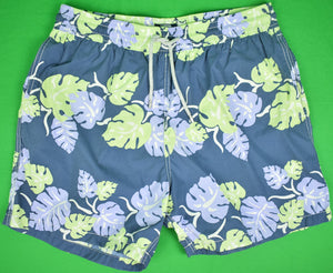 Vilebrequin Tropical Leaf Print Swim Trunks Sz: XXXL (New w/ Tag!)