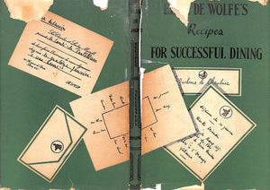 """Elsie de Wolfe's Recipes For Successful Dining"" de Wolfe, Elsie"
