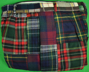 "Gokeys Patch Tartan Trousers Sz: 28""W"