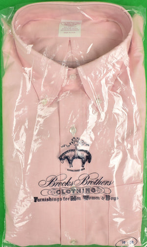 Brooks Brothers Pink OCBD (New/ Old Deadstock!) 16-4 (SOLD!)