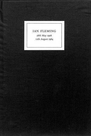 """Address Given At The Memorial Service For Ian Fleming"" PLOMER, William"