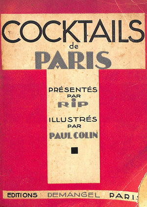 """Cocktails de Paris"" Campari, David"