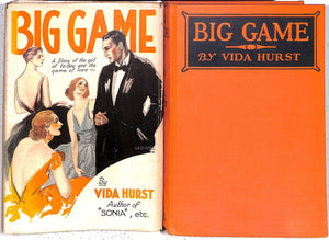 """Big Game: A Story of the Girl of Today & The Game of Love"" 1928 HURST, Vida"