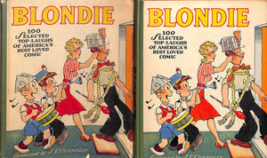 """Blondie: 100 Selected Top-Laughs of America's Best Loved Comics"" CONNOLLY, J.V. YOUNG, Chic"