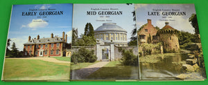"""English Country Houses: Early/ Mid & Late Georgian 1715-1840"" 1986 HUSSEY, Christopher"