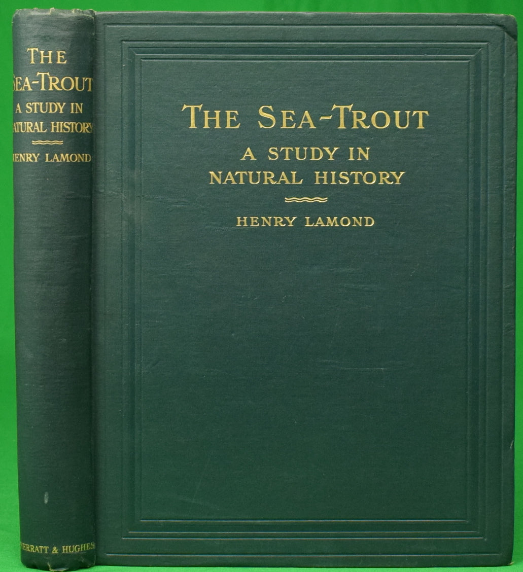 """The Sea-Treat: A Study In Natural History"" 1916 LAMOND, Henry"