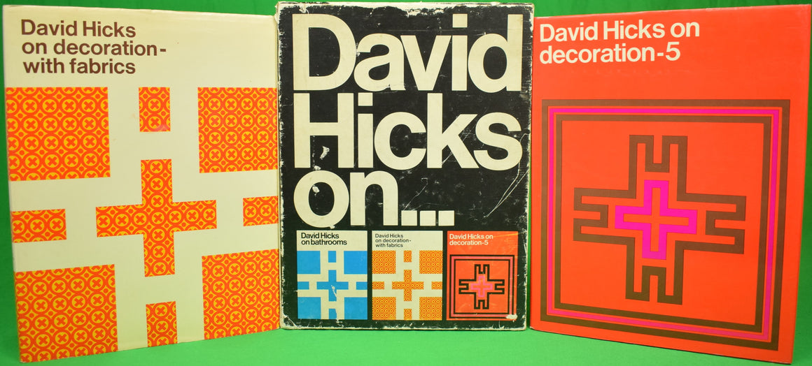 """David Hicks on... Bathrooms, Decoration with Fabrics, and Decoration-5"""