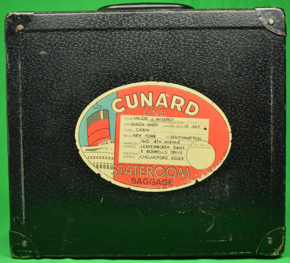 """Queen Mary Cunard Line Stateroom Luggage"""
