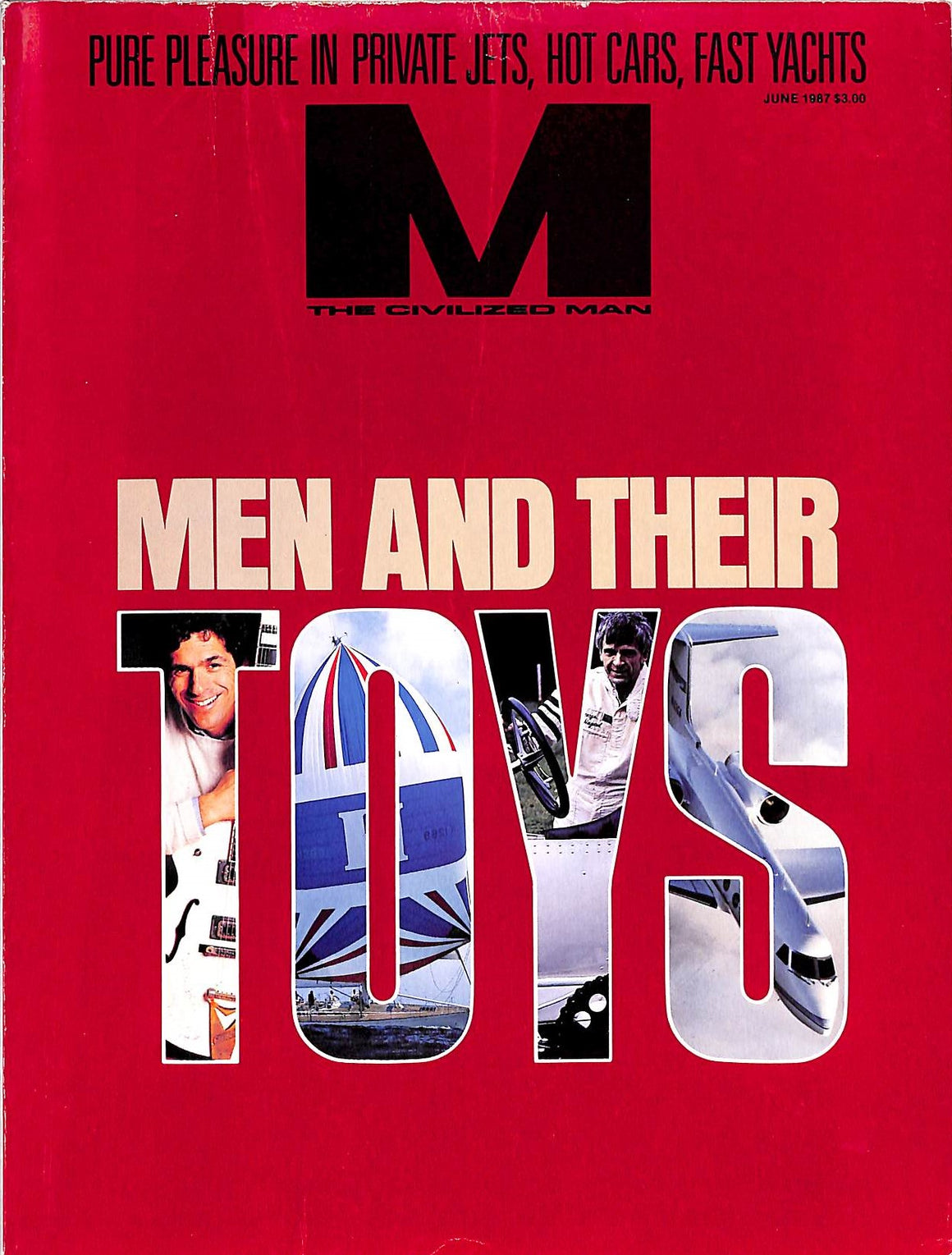"""M The Civilized Man: Men and Their Toys June 1987"""