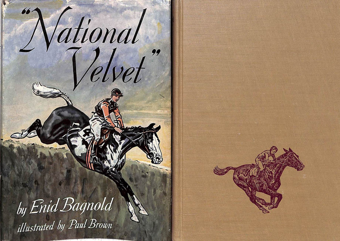 """National Velvet"" 1969 by Enid Bagnold w/ Illustrations by Paul Brown"